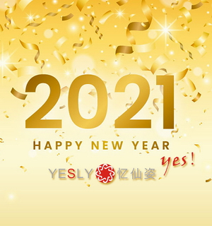 YESLY Wish you a Happy New Year!